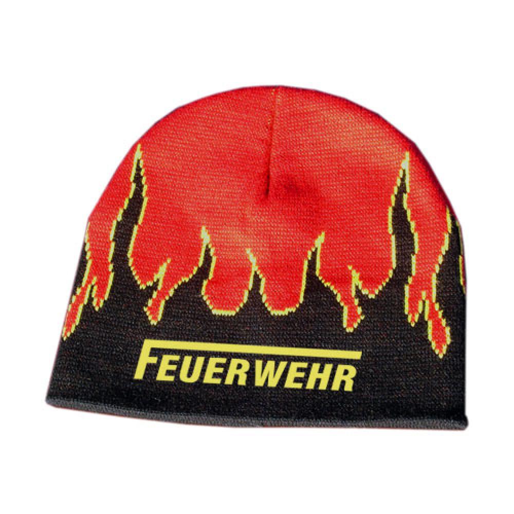 Mütze mit Flammen - Motiv 2811 (Stick)