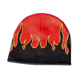 Mütze mit Flammen