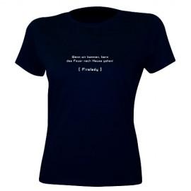 T-Shirt Lady - Motiv 2612