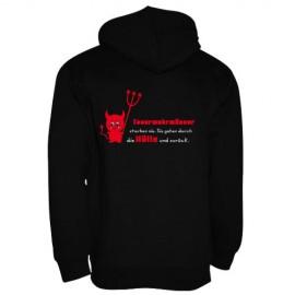 Kapuzen-Sweater - Motiv 2330